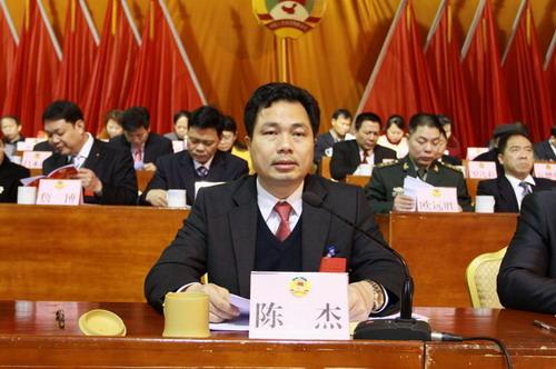 老杰在温泉镇代表讨论会上强大调2015年工干四