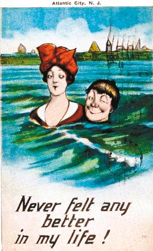 """1918年美国""""情人""""明信片见证爷爷奶奶的爱情"""