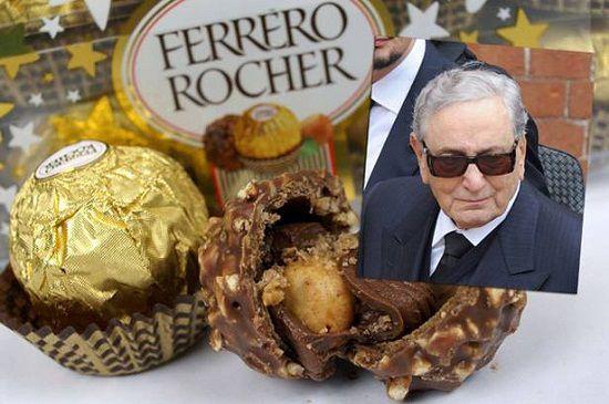 意大利首富、费列罗巧克力之父情人节当天逝世