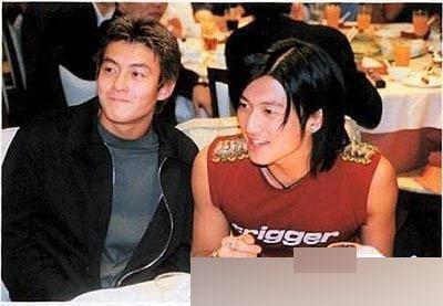 盘点明星绝版合照:陈冠希谢霆锋曾是好兄弟