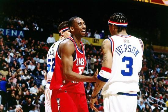 回顾科比NBA全明星生涯经典瞬间图片