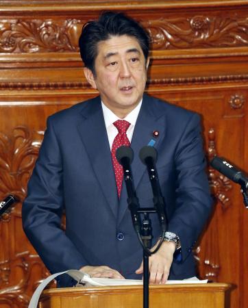 安倍将接受各党首质询首相谈话经济改革成焦点