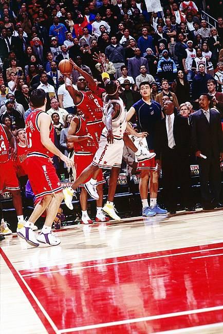 回顾科比NBA全明星生涯经典瞬间(组图)