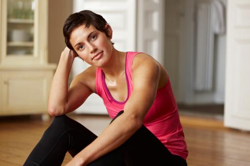 适当的流汗有益身体健康