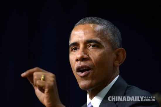奥巴马向华人拜年耍幽默:不管它是公羊山羊还是绵羊
