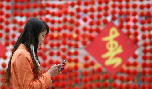 运营商除夕短信量下滑超30% 短信拜年要OUT了