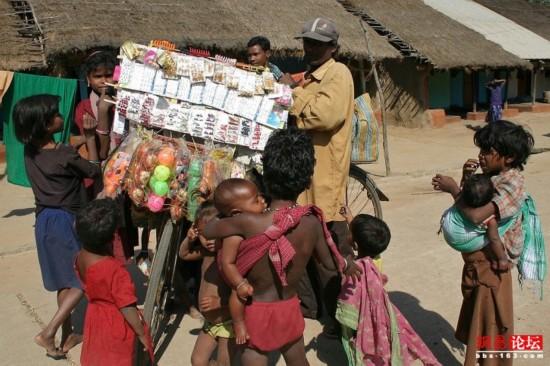 穿行破败不堪的印度农村【40】