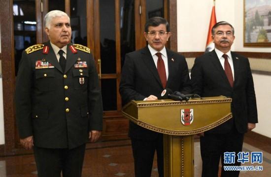 """(国际)(1)土耳其军队成功营救被""""伊斯兰国""""包围的土士兵"""