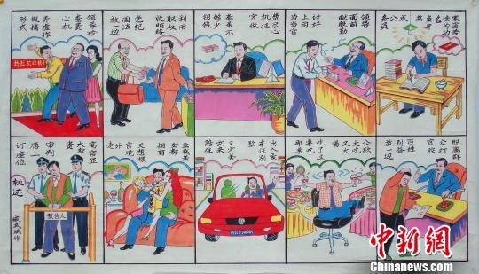 """河北武强年画""""廉""""味浓百姓青睐盼""""更深入"""""""