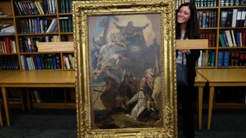 美国交还意大利2件遭窃艺术品价值逾60万美元