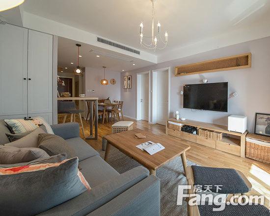 装89平创意日式原木小家 小清新的完美色调空间