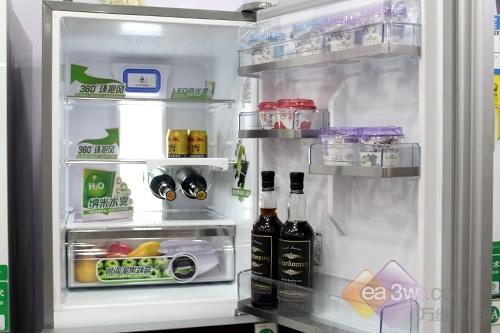 保鲜不浪费 容声三门冰箱节前热卖