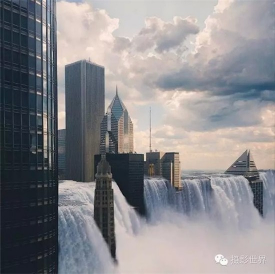 美国女孩用iPhone6手机拍出世界末日景象