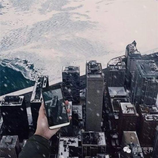 美国女孩用iPhone手机拍出世界末日景象