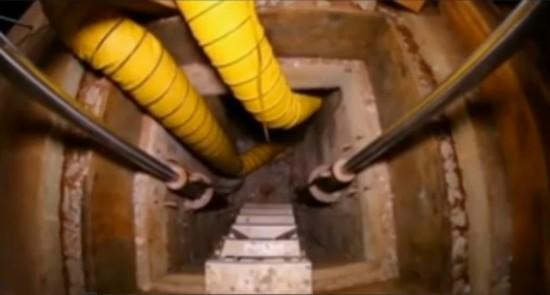 墨西哥毒贩挖运毒地道直通美国 通风电力设施