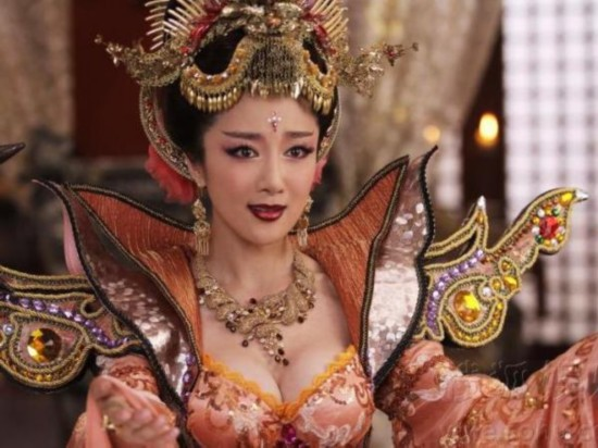 九版本苏妲己比美 李依晓版妲己最妖艳--山东频