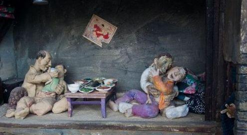 刘老根不雅泥塑被拆 这些泥塑都是出自谁人之手呢(图)