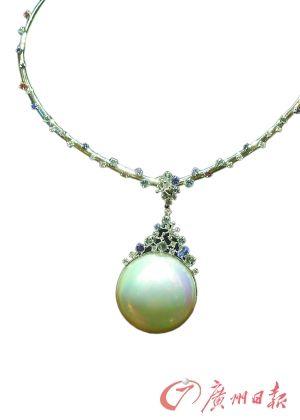 珍珠饰品。CFP图