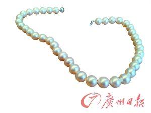 珍珠饰品。