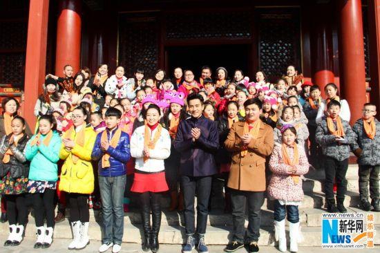 高清:刘恺威支持文化公益 赴孔庙修国学弹古琴