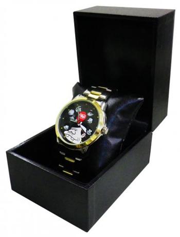 日本厂商推出特色手表 表针倒转时间反着记