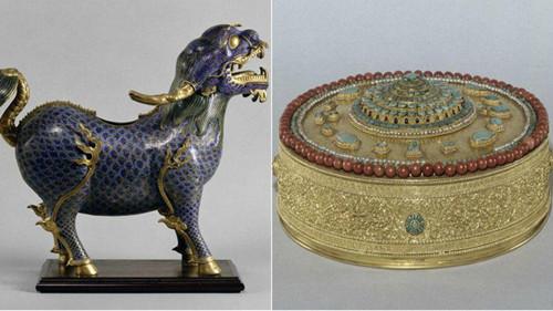 法国枫丹白露宫多件文物被盗包括圆明园珍品(图)