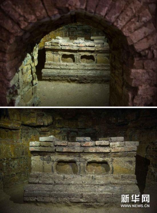 (文化)(3)北京地区发现一处从东汉到辽金�r期的墓葬群