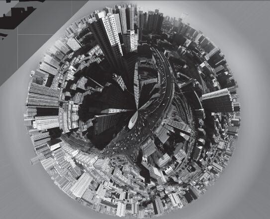 p46山西省太原市360°全景图片。