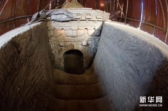(文化)(2)北京地区发现一处从东汉到辽金�r期的墓葬群