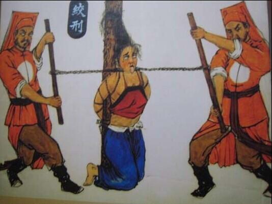 导致身首异处的斩首.但是绞刑是一个时间长的过程,受刑人会相当痛