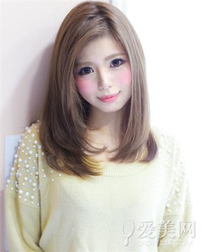 大圆脸适合的发型 梨花头甜美修颜