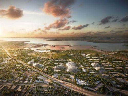 谷歌新园区规划曝光:可移动的透明建筑(图)