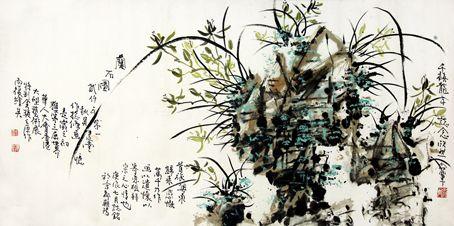 吴建堂——特邀最受欢迎的人民书画家献礼全国两会图片