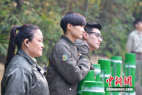 李宇春被钦点照顾熊猫 被赞细心负责任(图)