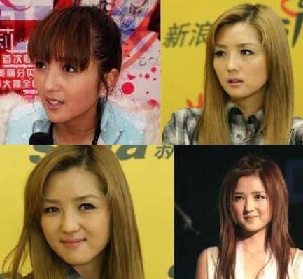 李小璐何潔姚芊羽 娛樂圈10大整容最厲害的女星