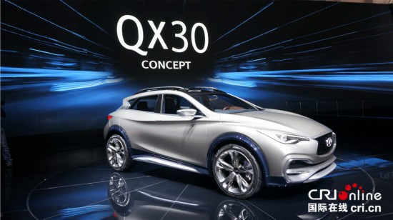 2015日内瓦车展 英菲尼迪QX30概念车全球首发