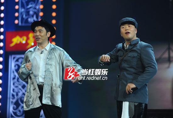 林依轮与杜海涛翻演陈佩斯代表作《主角配角》
