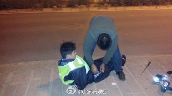 6名少年冒充执法人员夜查被抓