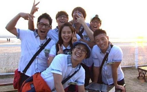 《RunningMan》男成员女装大集合 李光洙显眼