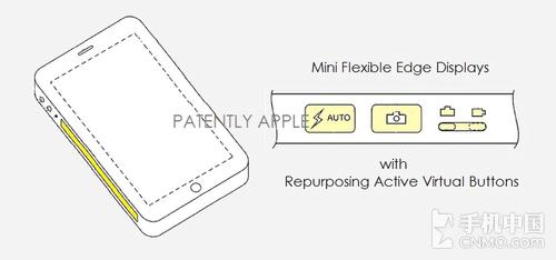 苹果专利:iPhone 7未来或采用侧显示屏