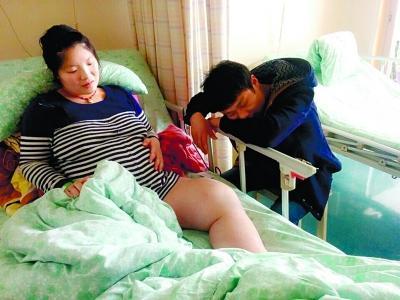 患肿瘤女子流产4次又怀孕:先别管我 保住孩子