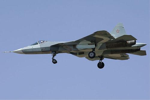 俄罗斯T-50战机(资料图)