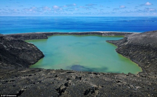 """即将消失的岛屿:""""太平洋火圈""""领略""""绝""""美风景"""