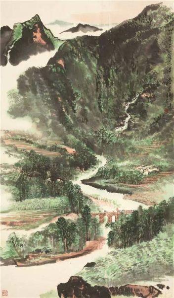 唐云(1910-1993) 走向革命圣地