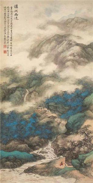 朱梅邨(1911-1993) 潇湘雨过