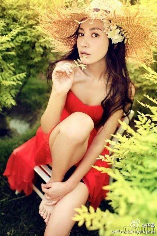 杨雪,她也蛮漂亮的,可惜不怎么红.