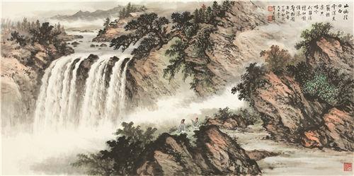 黄君璧(1898-1991) 山幽径曲