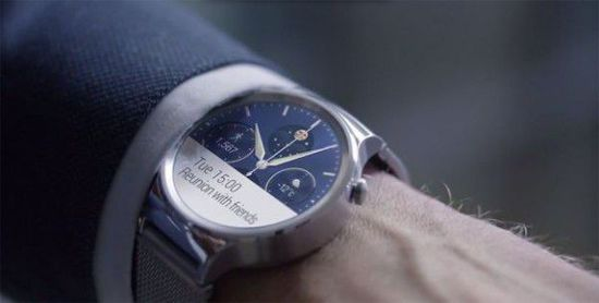 MWC 2015:华为发布首款Android Wear手表产品