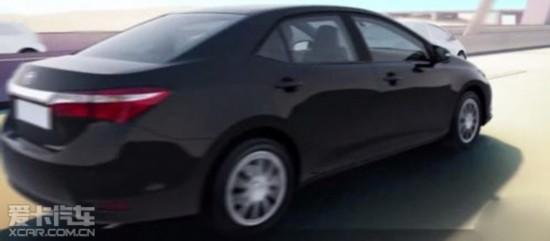 丰田改款卡罗拉谍照 或4月纽约车展亮相