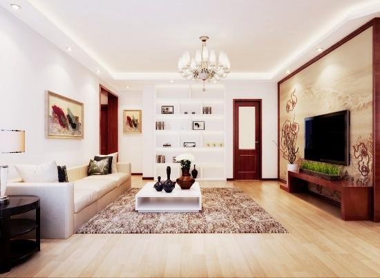 清境明湖-二居室-110.00平米-装修设计